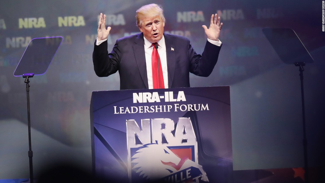 Mueller wants to know about 2016 Trump campaign's ties to NRA