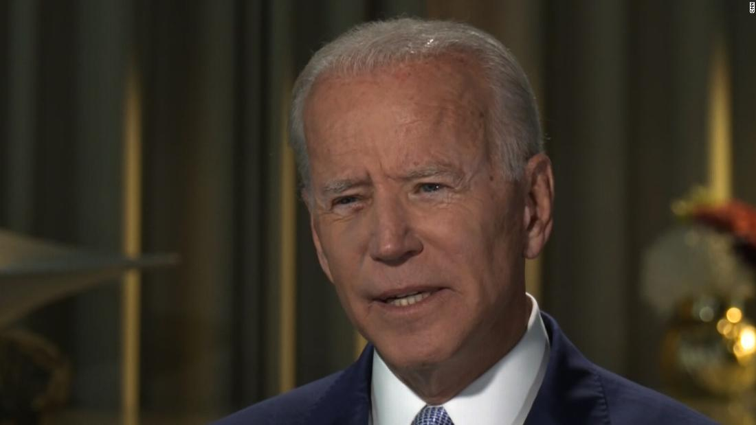 Joe Biden: Trump has 'abandoned the theory that we are one people'