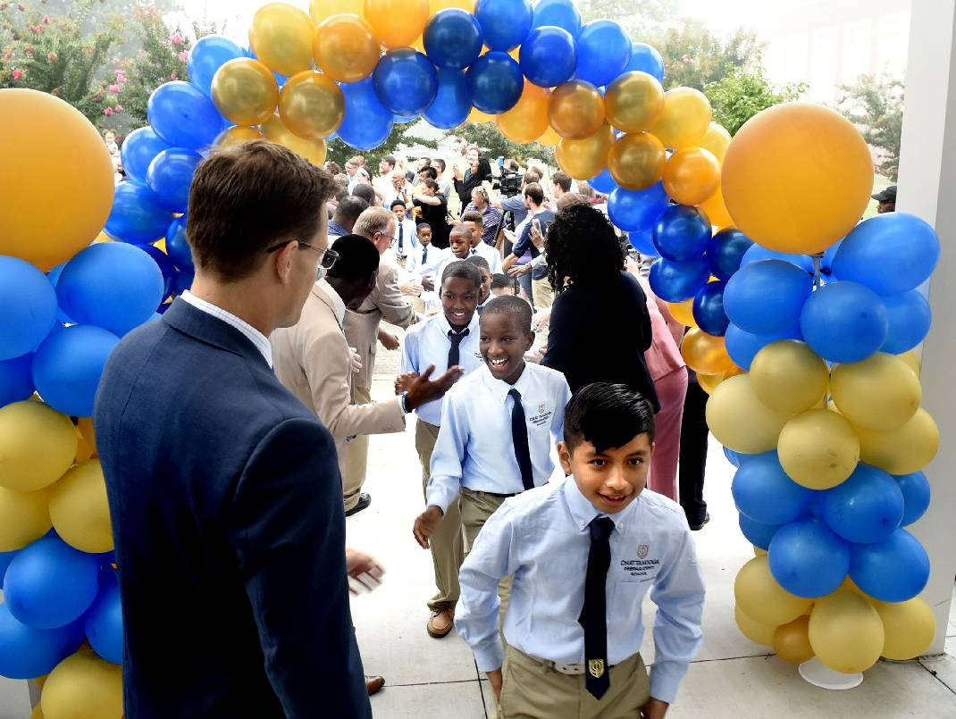 Chattanooga Prep students and staff look forward to second year, new leadership [videos, photos] - Chattanooga Times Free Press