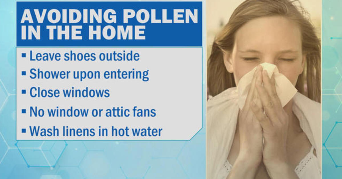 Simple ways to avoid misery during allergy season