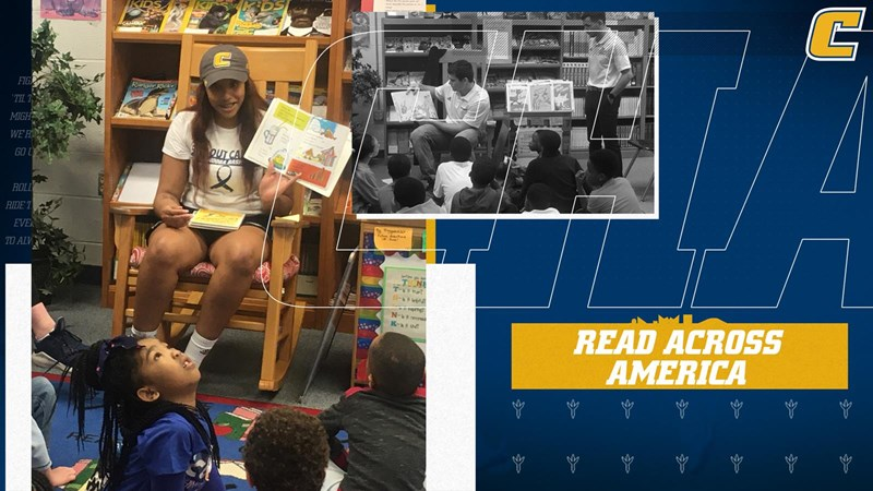 Chattanooga Athletics - Mocs Participate in Read Across America - GoMocs.com