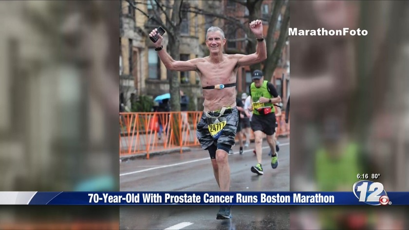 70-year-old man with cancer completes the Boston Marathon - WRDW-TV