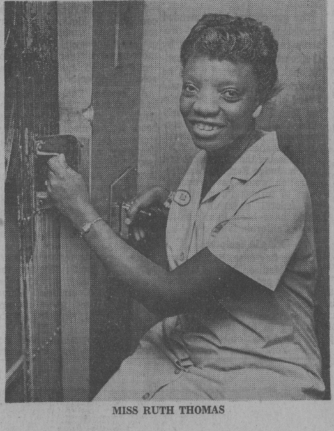Raney: Elevator operator Ruth Thomas earned the title 'Mayor of City Hall' - Chattanooga Times Free Press