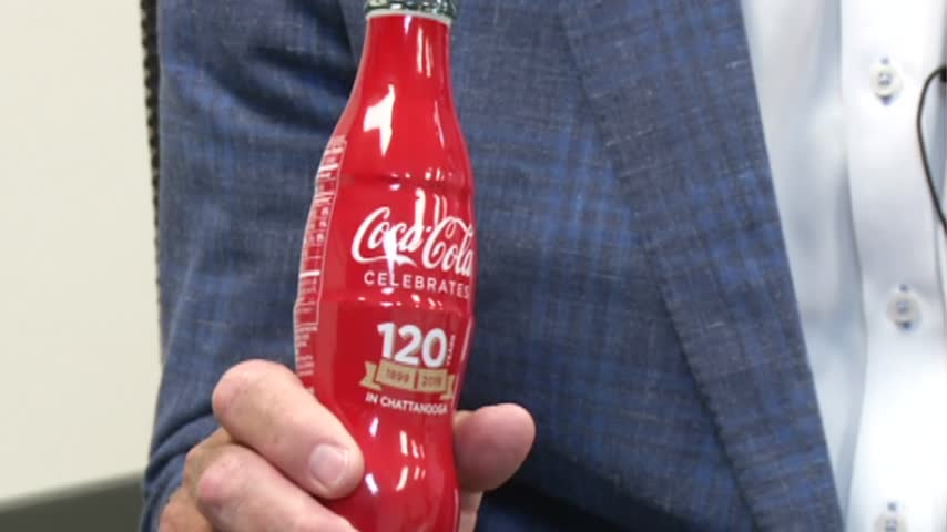 Chattanooga celebrates 120 years of bottling Coca Cola - WDEF News 12