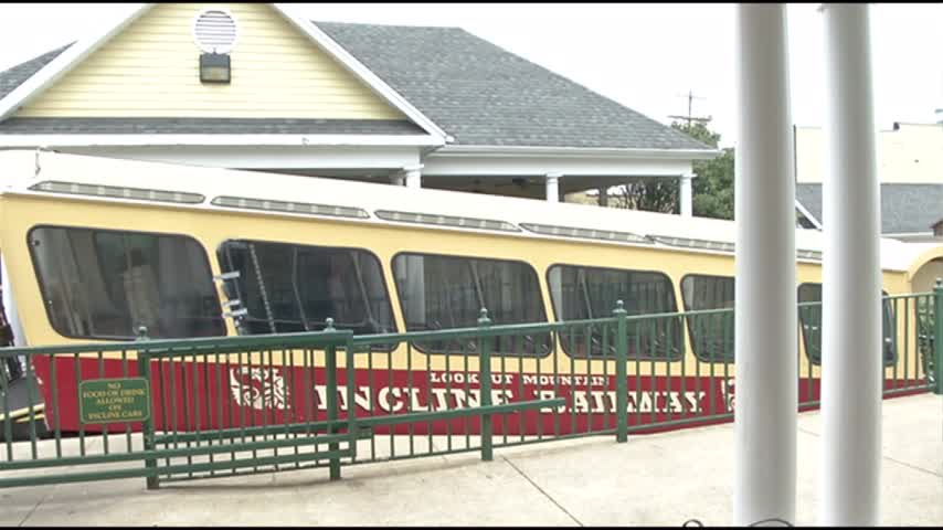 Incline Railway is upgrading their cars climbing Lookout Mountain