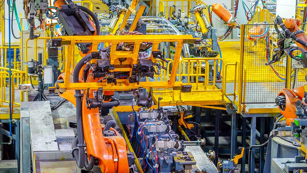 Industrial Robots March Into US Factories At Record Pace - Investor's Business Daily